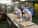 蒸しパン作業③